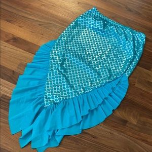 Girls Swim Mermaid Coverup